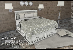 tarte. montgomery bedroom collection for FaMESHed August