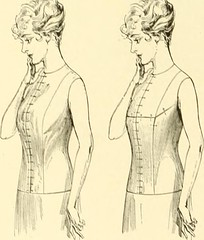"Image from page 29 of ""The new dressmaker; with complete and fully illustrated instructions on every point connected with sewing, dressmaking and tailoring, from the actual stitches to the cutting, making, altering, mending, and cleaning of clothes for la"