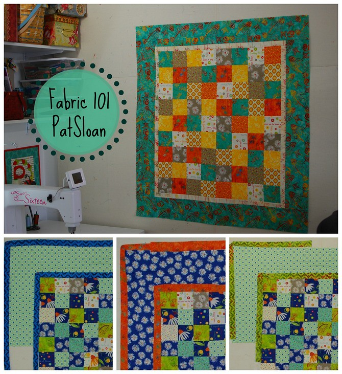 pat sloan how to select a quilt border fabric 2
