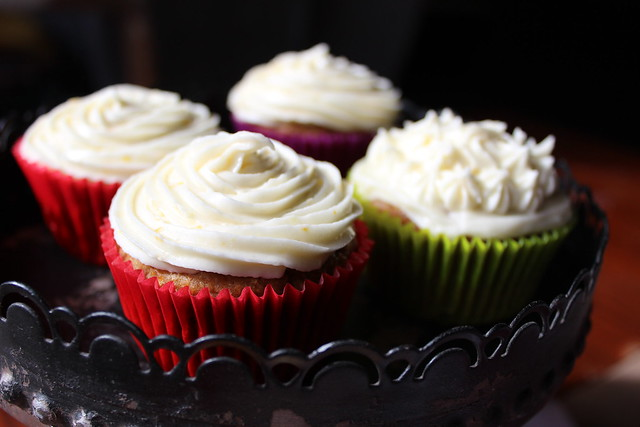 Lemon & Apple Cupcakes