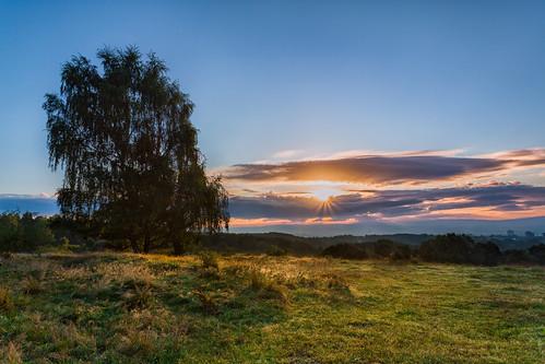 clouds sunrise tau sonnenaufgang kassel