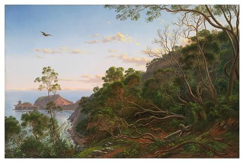 013- Los árboles de té cerca del Cabo Schanck, Victoria- Eugen von Guerard - Google Art Project