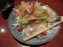 Daikon salad with wafu dressing