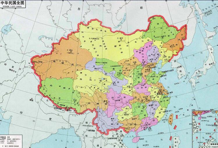 中華民國地圖
