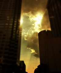 Storm through the skyline