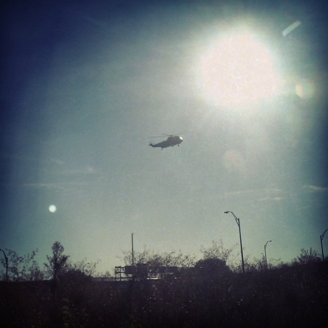 Good morning, Marine One. Or at least, good morning HMX-1.