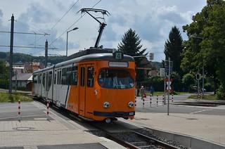 TW 522 am Gleisdreieck Waltershausen