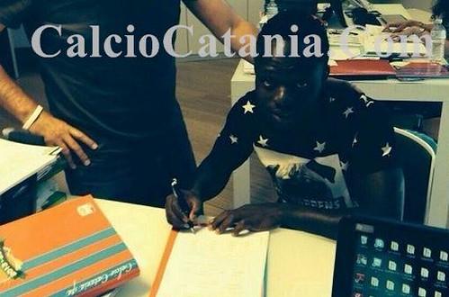 Odjer firma con il Catania - Esclusiva CalcioCatania.Com