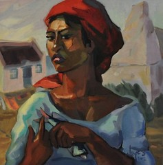 Vrou van Kassiebaai