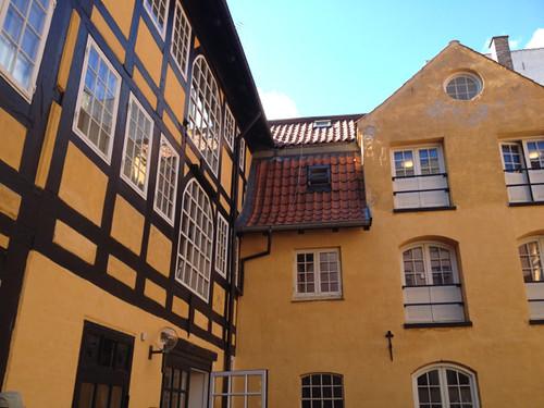 Courtyard, Nyhavn
