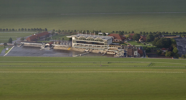 Newmarket Racecourse aerial