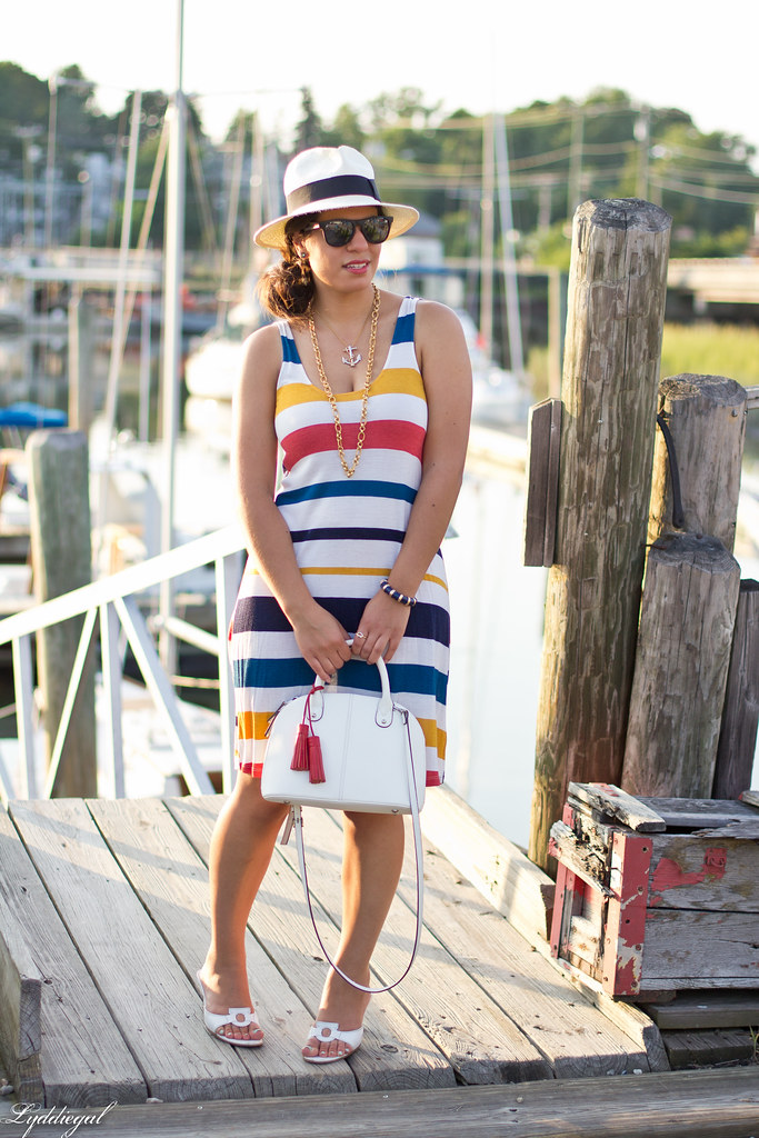 striped dress, panama hat.jpg