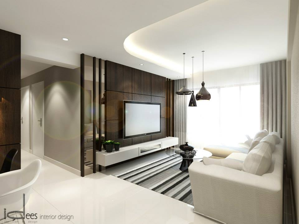 Hdb woody modern concept blk 178b rivervale cresent for Modern home interior design singapore