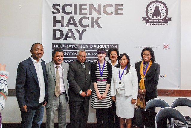 Science Hack Day Madagascar opening event