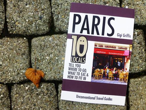 Paris on backdrop