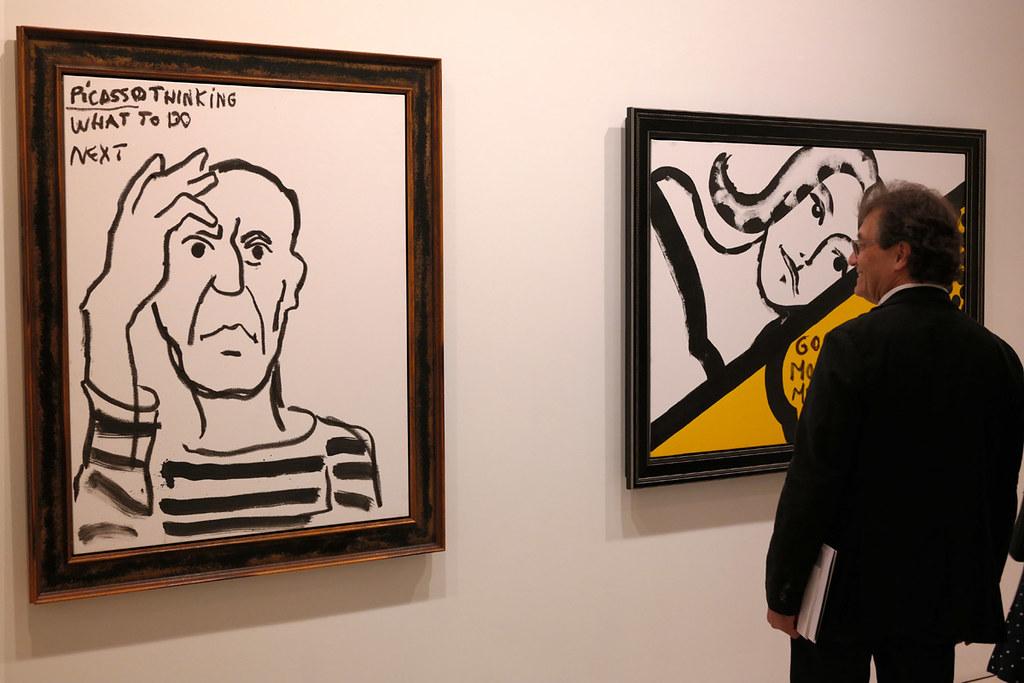 ערן שקין בגלריה סאצ'י, לונדון