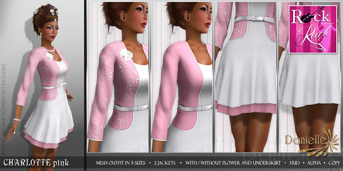 DANIELLE Charlotte Pink RYR 2014 exclusive