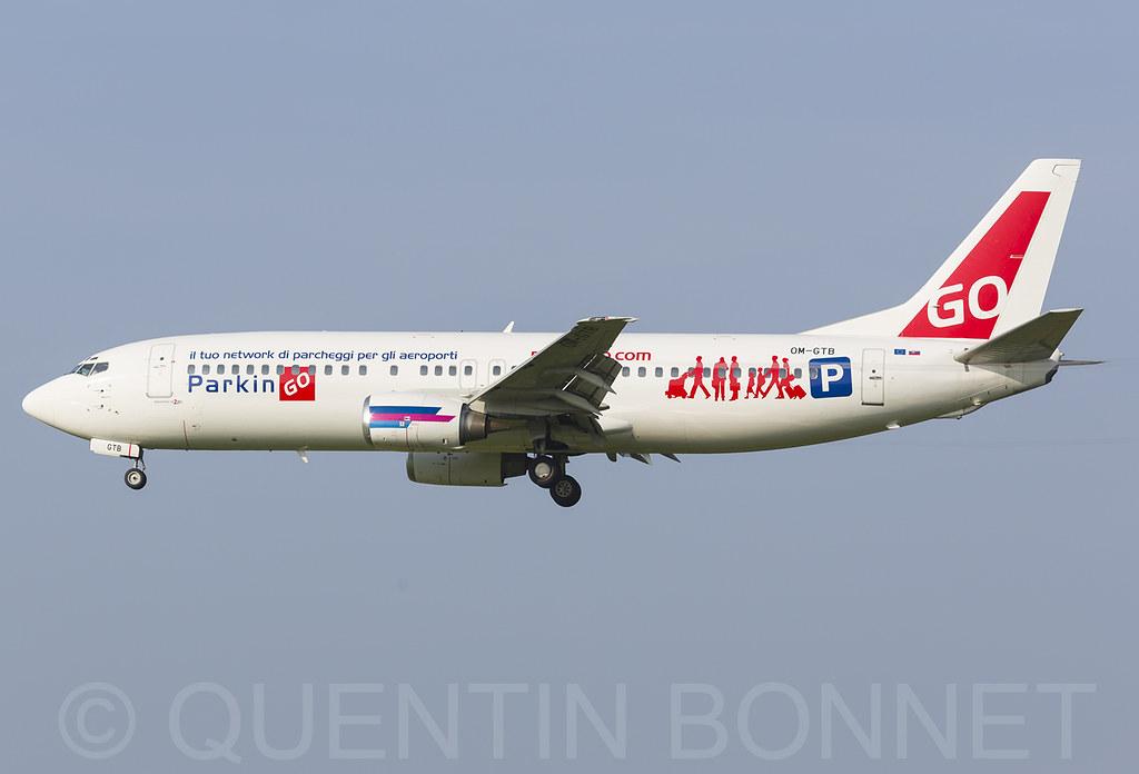 Go2Sky Boeing 737-49R OM-GTB