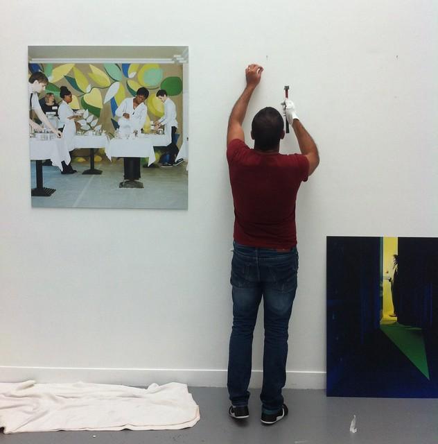 l'Exposition PHPA 2014 - l'accrochage à la </br>Galerie Esther Woerdehoff