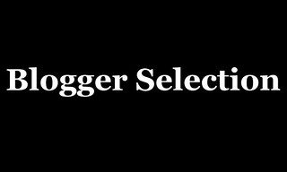Blogger-Selection