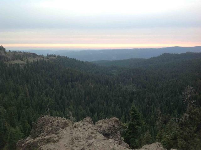 View from Sierra Nevadas