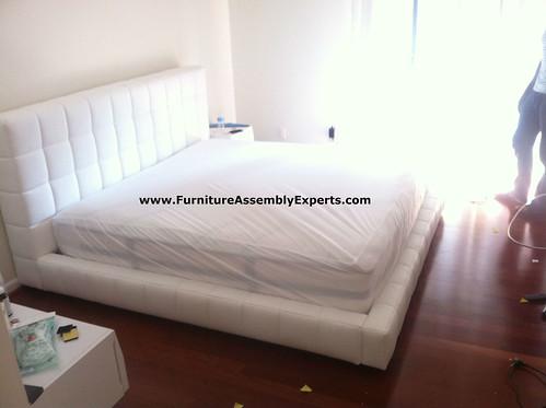 modloft plaform bed assembly service in DC MD VA