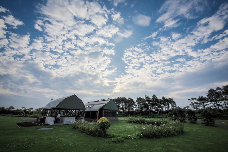 Motto Kazete Campground near Hamanaka, Hokkaido, Japan