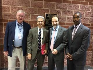 NTSB's Nicholas Worrell, Advocate Joel Feldman, and representatives from Loudon County Public Schools
