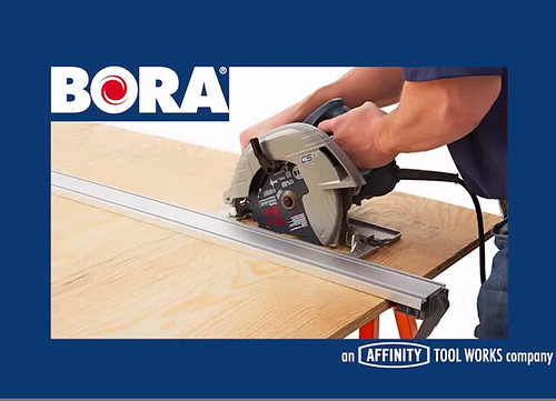 BORA's WTX Clamp Edge is new to the precision cutting category