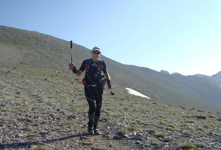 Ο Δημήτρης Καζούρης στον Olympus Mythical Trail