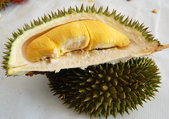 pineapple(0.0), coconut(0.0), plant(0.0), produce(0.0), ananas(0.0), fruit(1.0), food(1.0), durian(1.0),