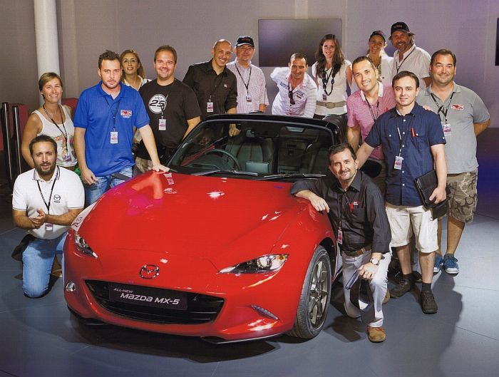Nuevo Mazda MX-5 ND