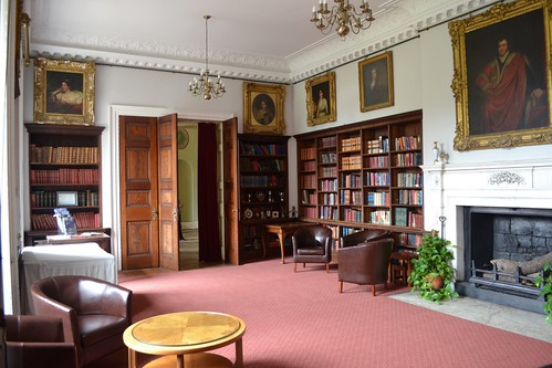 Library in Cobham Hall
