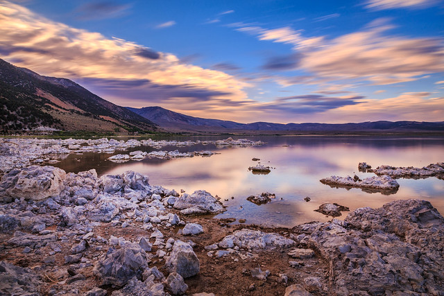 Another View of Mono Lake at Sunset