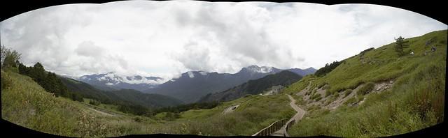 合歡東峰步道風景