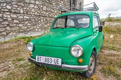 light commercial vehicle(0.0), automobile(1.0), vehicle(1.0), fiat 600(1.0), subcompact car(1.0), city car(1.0), zastava 750(1.0), antique car(1.0), land vehicle(1.0),