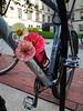 Flowers on my bike