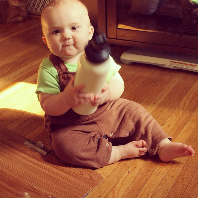 #tbt the chunklet with my water bottle. (2 years ago, already!)