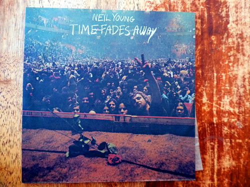 Time Fades Away on viny