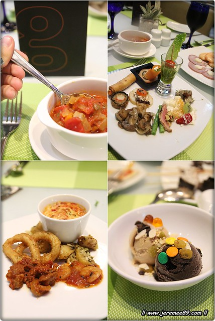 Italian Buffet @ G Cafe - Dishes