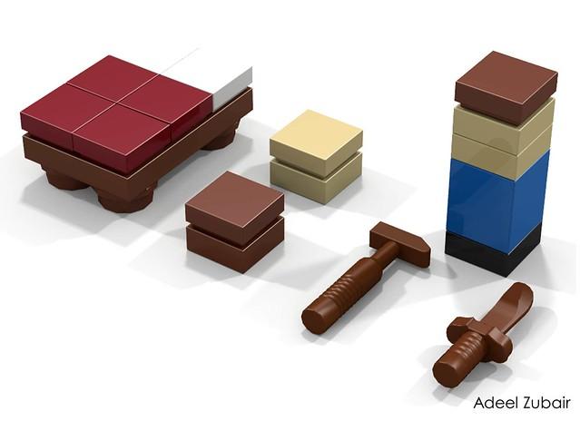 LEGO Minecraft, Micro World - Survival Pack