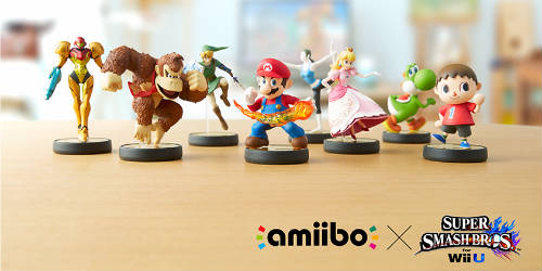 You can now pre-order first 12 Amiibo Figures