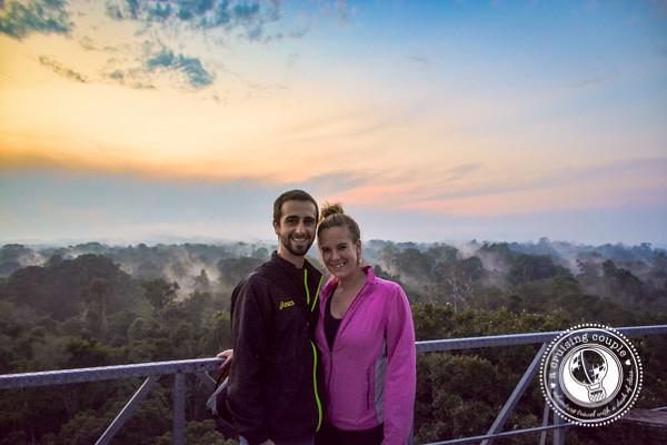 A Cruising Couple Amazon Sunrise