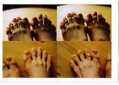 kang sue-jin's feet