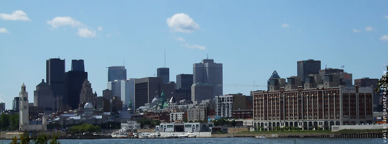 Montreal skyline (2008) panoramic