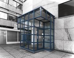 Mondriaan's cage