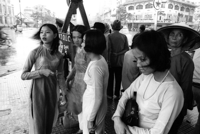 SAIGON 1969-70. Photo by Michael Burr