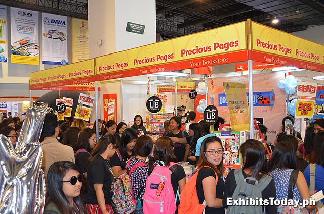 Precious Pages exhibit booth