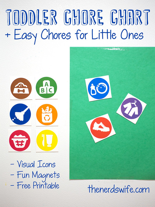 Toddler Chore Chart #SparklySavings #Shop