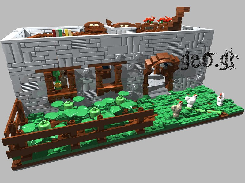 [Digital MOC]:Modular Cottage House 15111885138_19d0ca447c_c